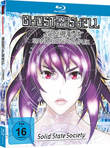 Ghost in the Shell - Stand Alone Complex: Solid State Society - The Movie -...