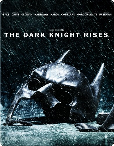 The Dark Knight Rises Steelbook (2 Discs) [Blu-ray]
