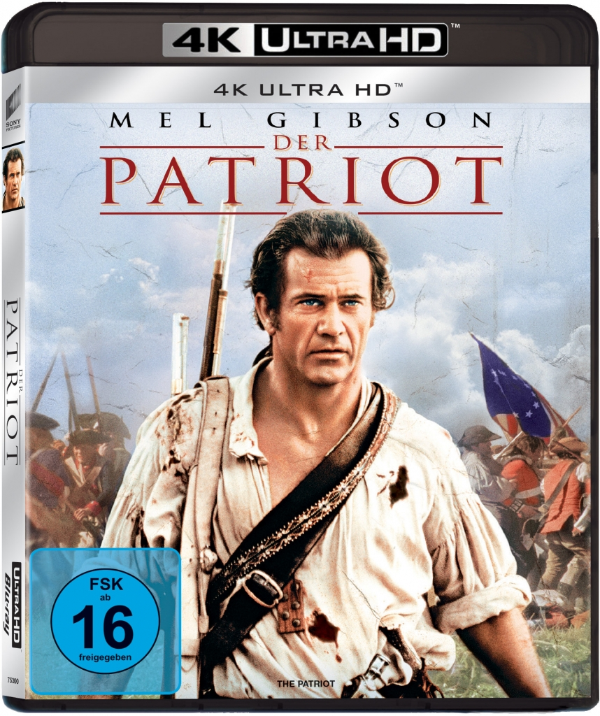 4K Cover zu Der Patriot