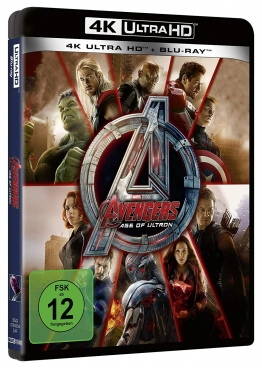 4K Cover zu Avengers Age of Ultron
