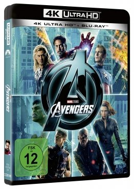 4k UHD Cover zu The Avengers