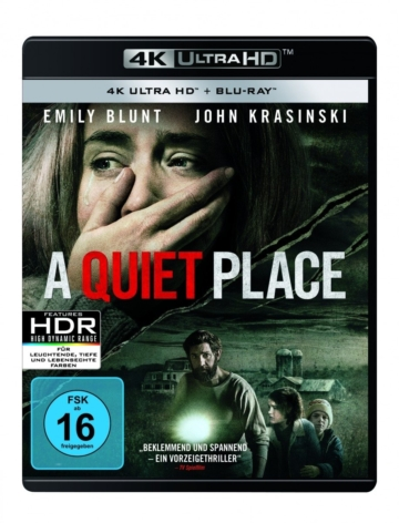 Frontansicht Cover A Quiet Place mit Dolby Vision