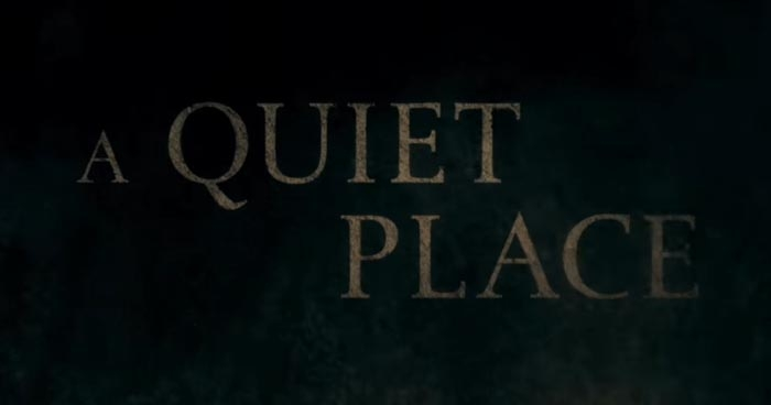 Logo zu A Quiet Place (Film)