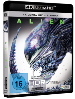 Alien 40th Anniversary Edition auf 4K UHD Blu-ray Disc