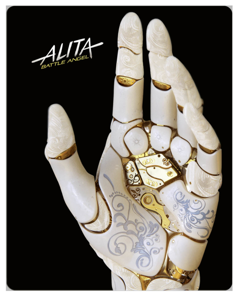 3D-Steelbook von Alita Battle Angel