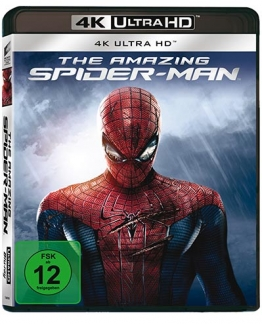 The Amazing Spider-Man 4K UHD Blu-ray Disc Cover