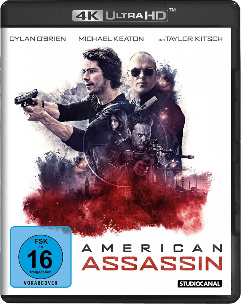American Assassin - 4K Ultra HD Cover