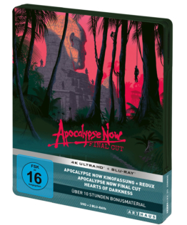 Apocalypse Now (Final Cut) 4K Steelbook (Front)