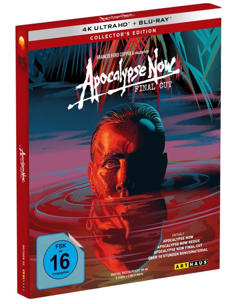 Apocalypse Now: Final Cut im UHD Keep Case im Schuber (Ansicht: schräg-seitlich)
