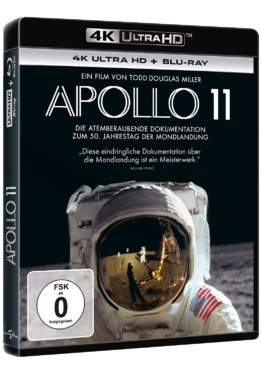 Apollo 11 im 4K UHD Blu-ray Disc Keep Case