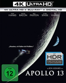 Apollo 13 - Deutsches UHD-Blu-ray Cover