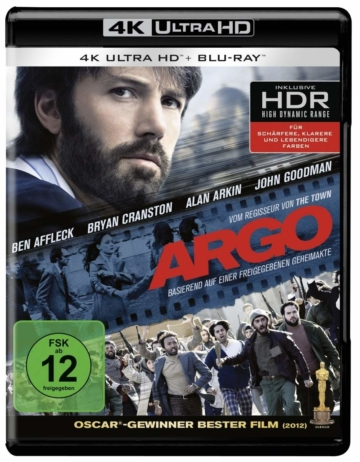 Argo 4K Blu-ray Disc (Deutsches Cover)