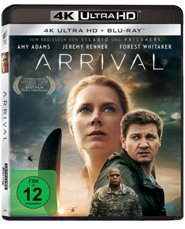 Arrival 4k Ultra HD-Blu-ray Disc