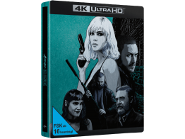 Atomic Blonde (Exklusives Steelbook) - 4K Ultra HD-Blu-ray