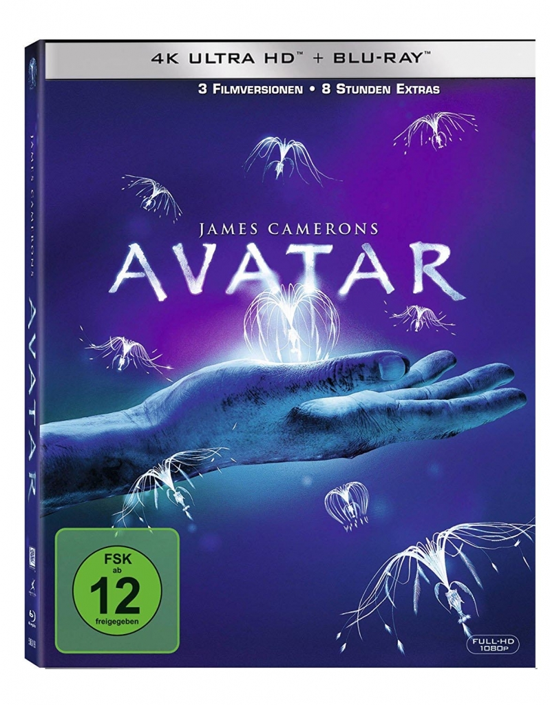Cover zu Avatar 4K