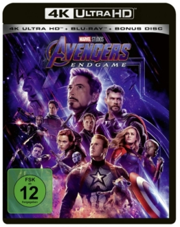 Avengers Endgame im 4K Ultra HD Keep Case