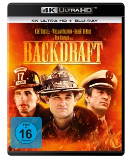Backdraft - 4K UHD Blu-ray Disc Cover von Universal