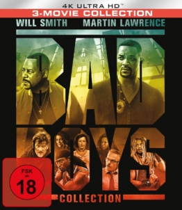 Bad Boys 1 -3 4K Collection im UHD Keep Case (Frontansicht)