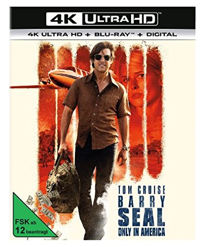 Barry Seal - 4K Ultra HD Cover