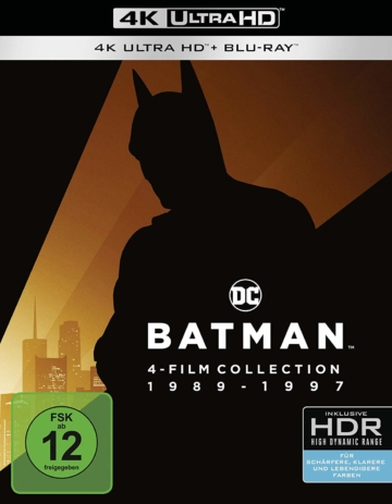 Batman 4K UHD Collection (Front ansicht) mit HDR