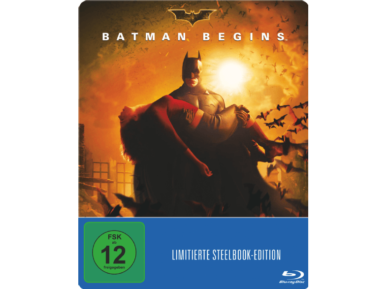 Batman Begins im Blu-ray-Steelbook