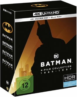 Batman 1-4 Original 4k UHD-Set im Schuber
