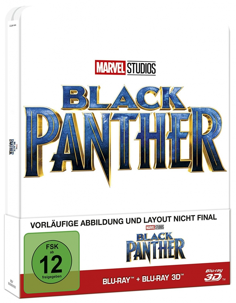 Cover zum Black Panther 3D Steelbook