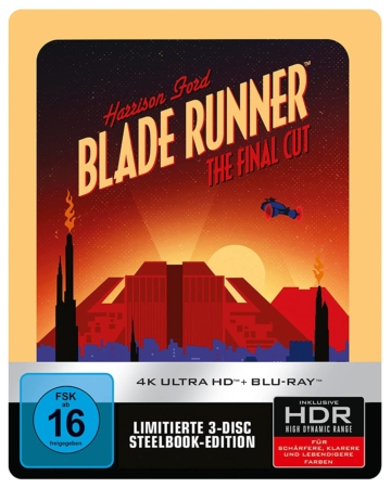 Blade Runner 4K Steelbook (1982 Vintage Art) (Limited 4K UHD Edition))