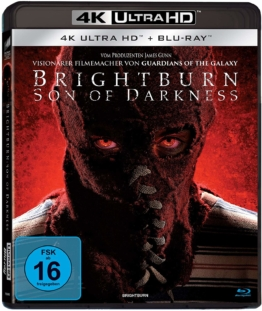 Brightburn 4k - Son of Darkness UHD Cover