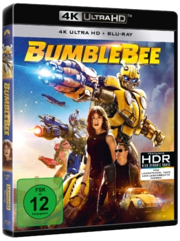 Bumblee (4K UHD Bluray Cover)