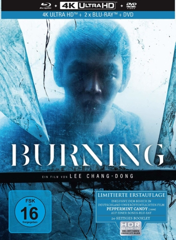 Burning - 4K UHD Keep Case