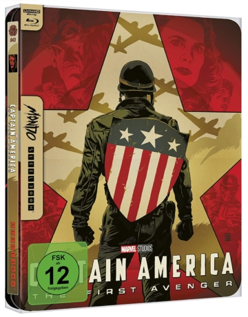 4K Mondo Steelbook zu Captain America: The First Avenger