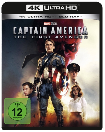 Frontcover zur Captain America 4K Ultra HD Blu-ray Disc