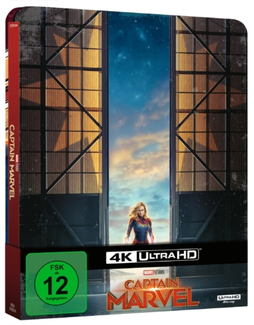 4K Ultra HD-Steelbook zu Captain Marvel mit Schuber