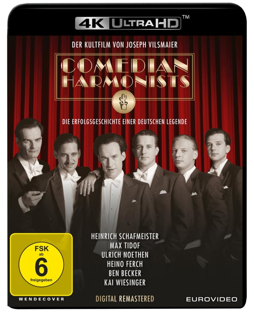 Comedian Harmonists 4K Blu-ray Disc (High Res)