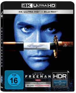 Crying Freeman 4K UHD Limited Blu-ray Edition mit Mark Dacascos