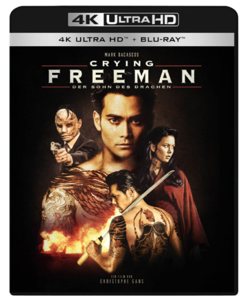 Front zum Crying Freeman 4K UHD Limited Blu-ray Cover
