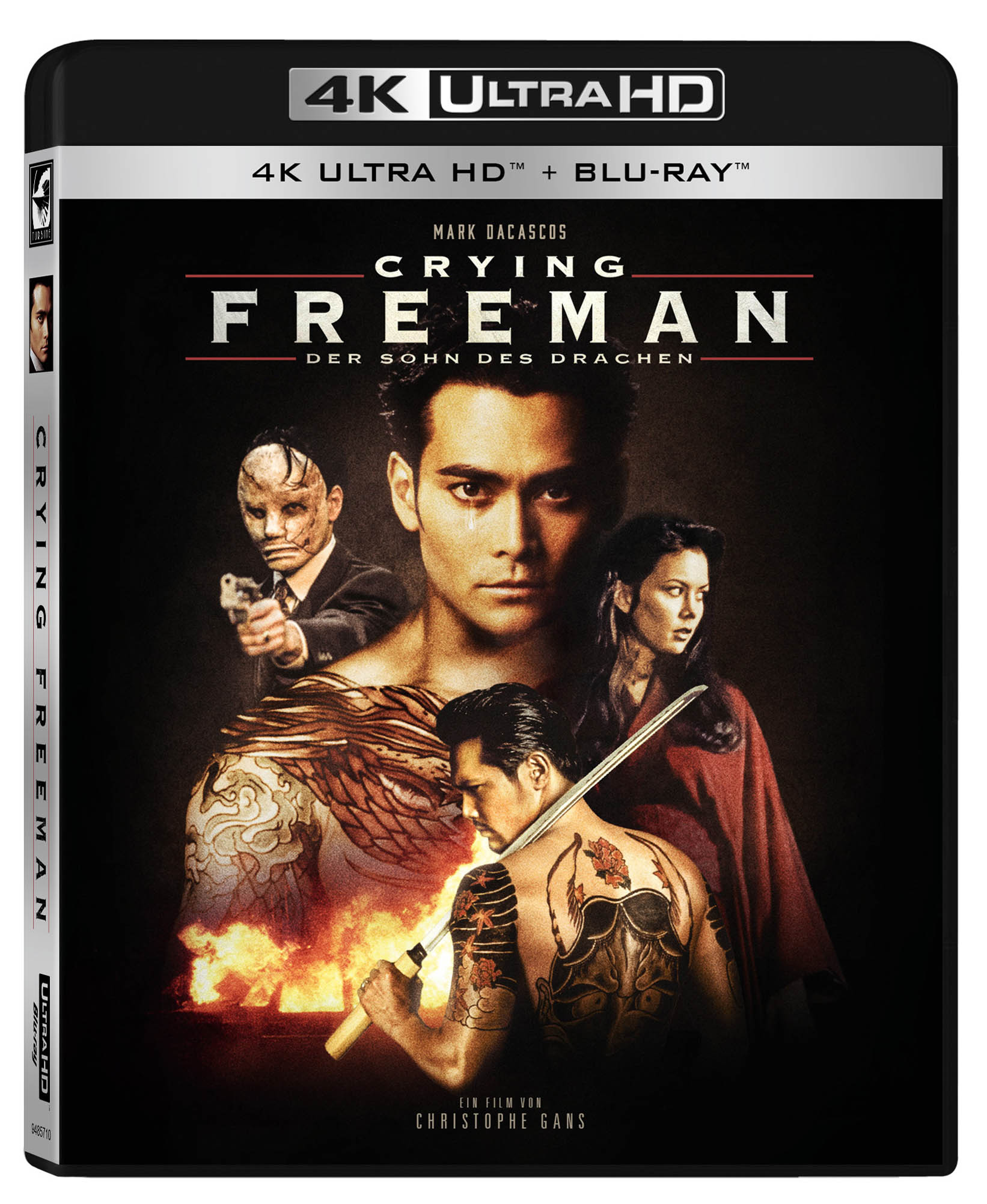 Crying Freeman 4K UHD Limited Blu-ray Edition mit alternativem Cover