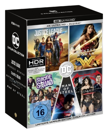 DC Universe 4K Collection (5 Film Set)