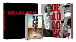 Deadlock 4K Blu-ray Digipack Cover A mit Hardcover-Begleitbuch von Timo Würz