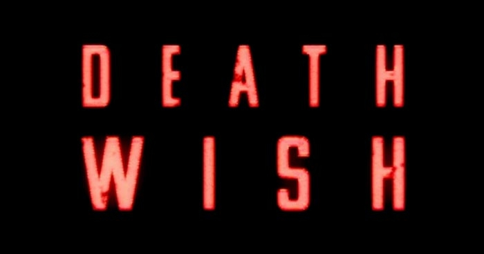 Logo zum Death Wish Film mit Bruce Willis