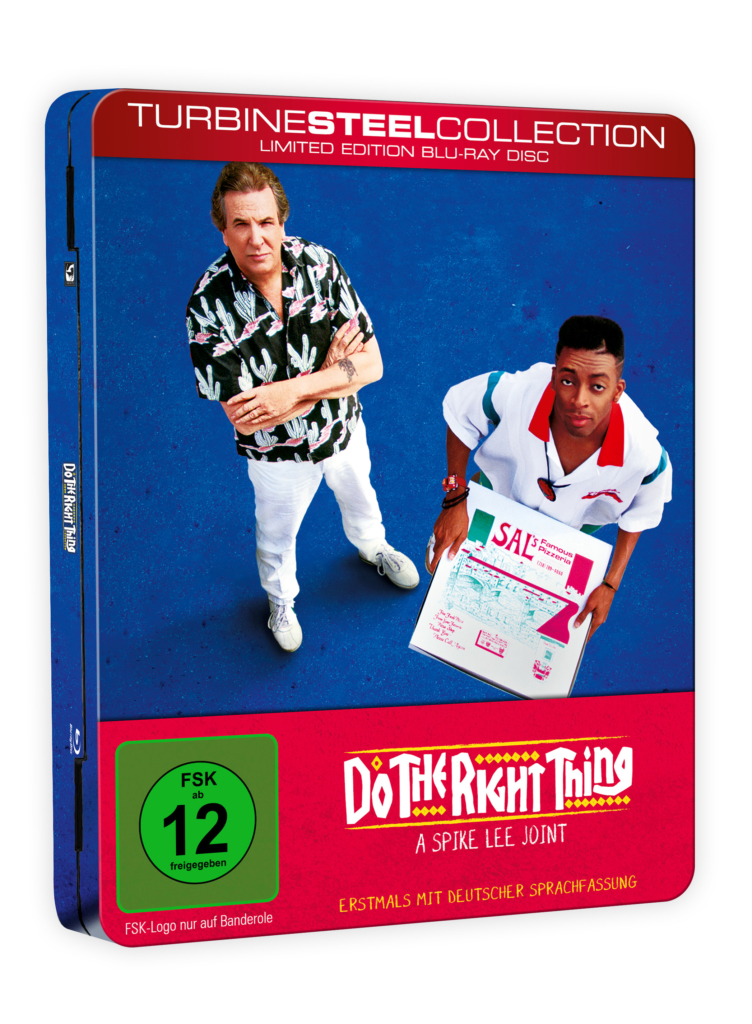 Do The Right Thing Blu-ray Steelbook von 2018