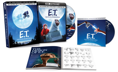 ET 4K Blu-ray Disc - Limited Edition Gift Set