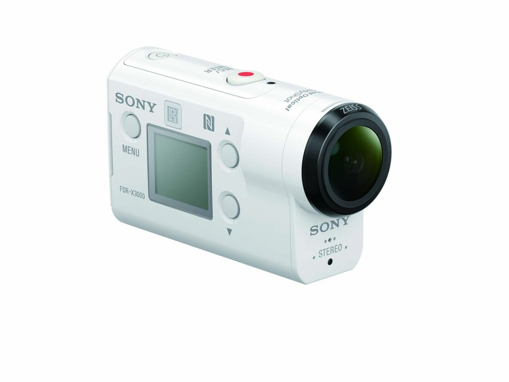 Sony FDR-X3000 Actioncam, weiß