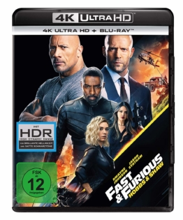 Fast & Furious - Hobbs and Shaw 4K UHD Blu-ray Disc