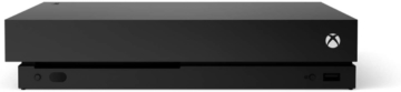 Xbox One X Konsole (Frontansicht)
