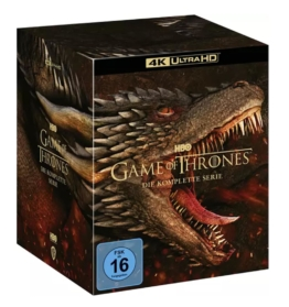Game of Thrones 4K Komplettset auf UHD Blu-ray Disc