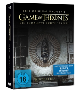 4K Cover zum Game of Thrones Staffel 8 Steelbook