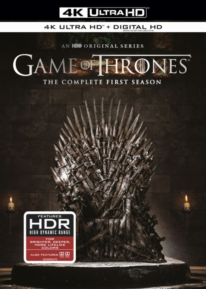 4K Blu-ray zu Game of Thrones - Staffel 1