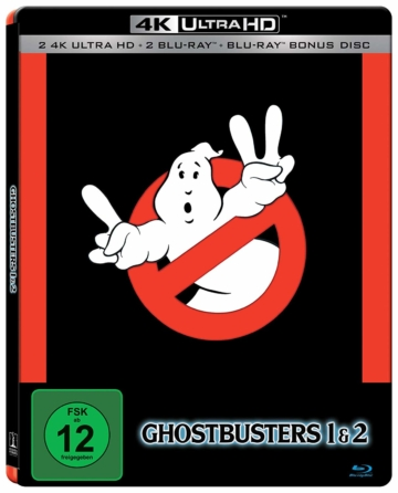 Ghostbusters auf 4K Ultra HD Blu-ray Disc im 4K-Steelbook